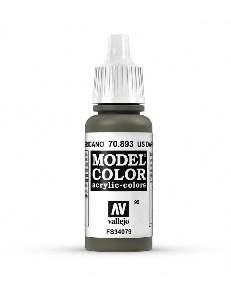 Vallejo Model Color - US Dark Green 17ml