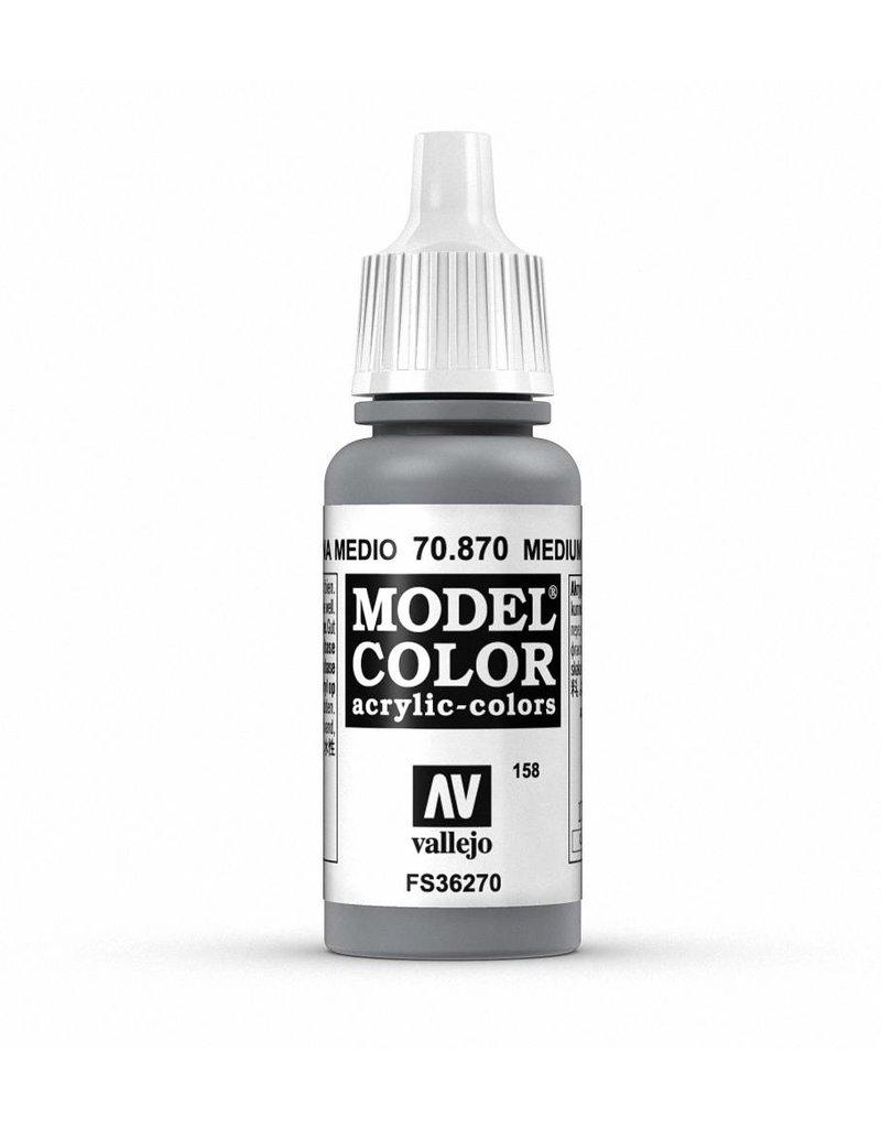Vallejo Model Color - Medium Sea Grey 17ml