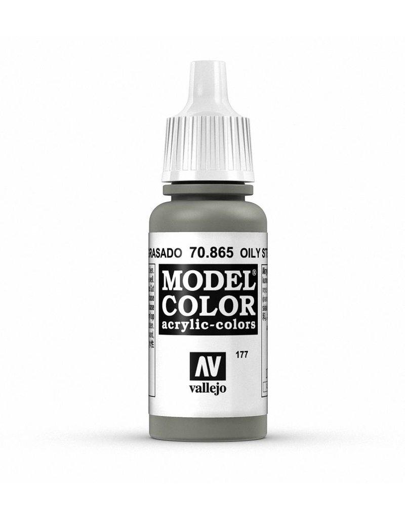Vallejo Model Color - Metallic Oily Steel 17ml