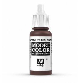 Vallejo Black Red (Cadmium Brown) 17ml