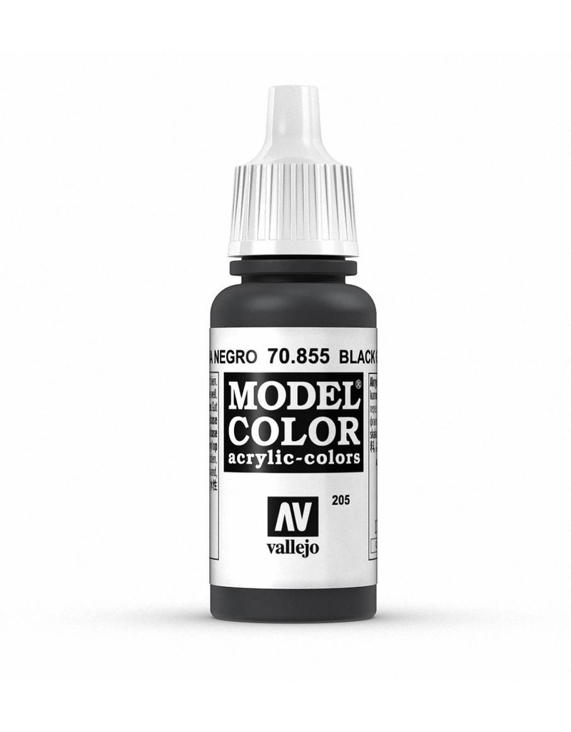 Vallejo Model Color - Black Glaze 17ml