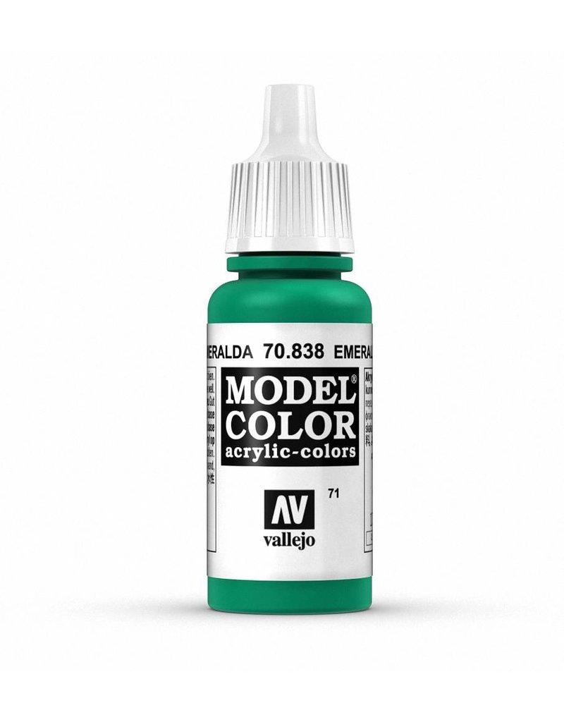 Vallejo Model Color - Emerald 17ml