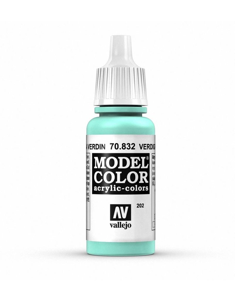 Vallejo Model Color - Verdigris Glaze 17ml