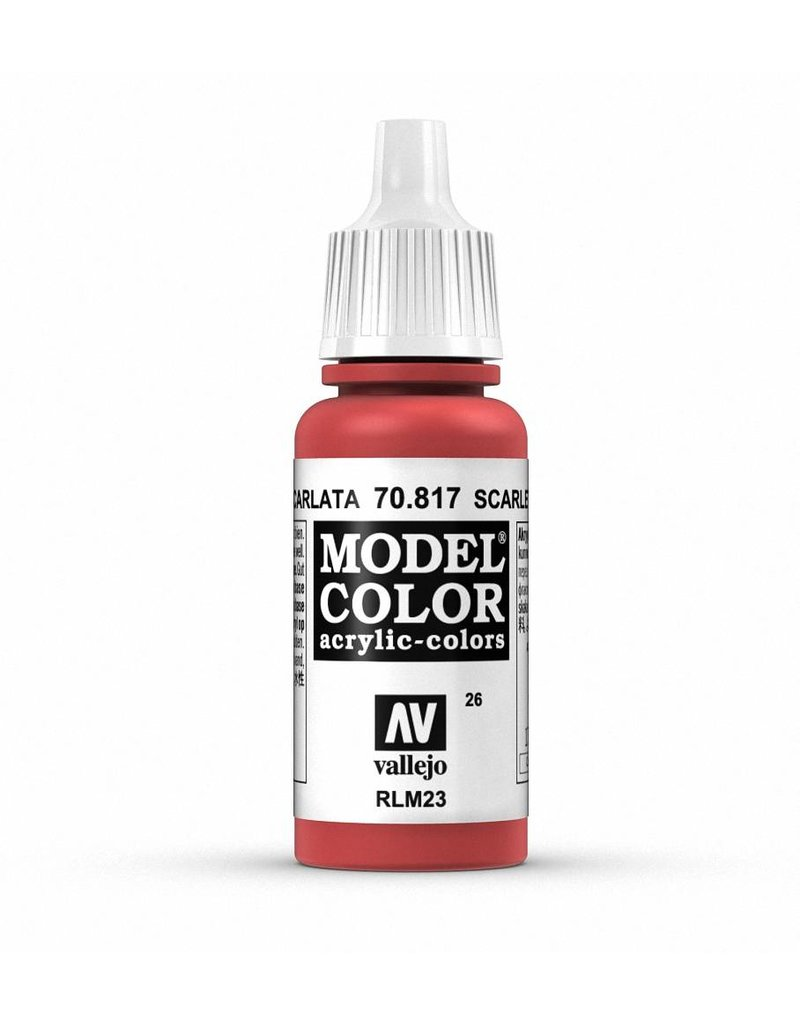 Vallejo Model Color - Scarlet 17ml