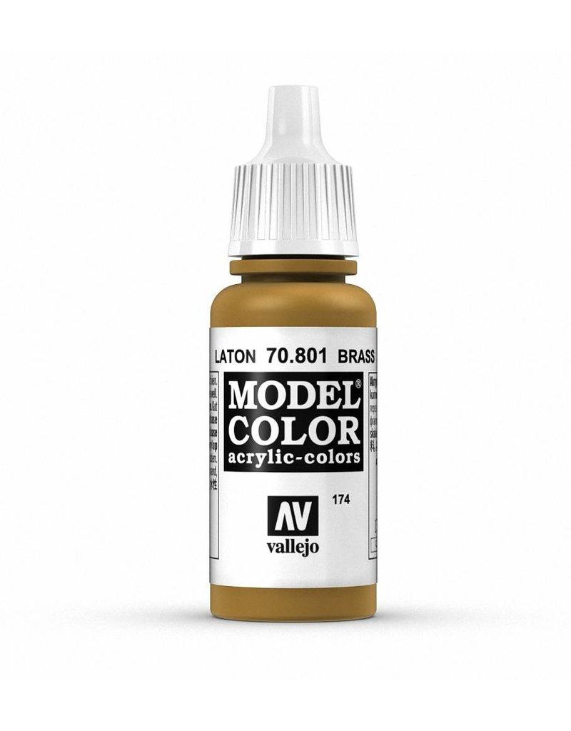 Vallejo Model Color - Metallic Brass 17ml