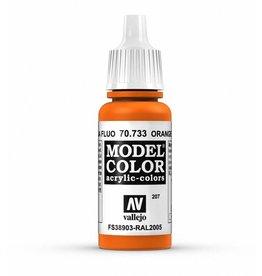 Vallejo Fluorescent Orange 17ml