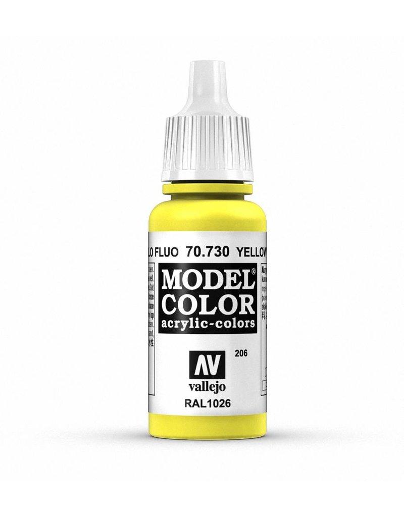 Vallejo Model Color - Fluorescent Yellow 17ml