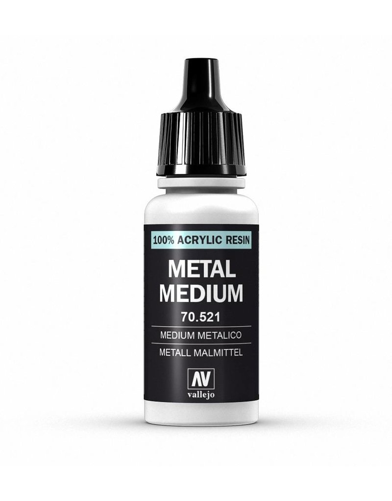 Vallejo Auxiliaries – Metal Medium 17ml