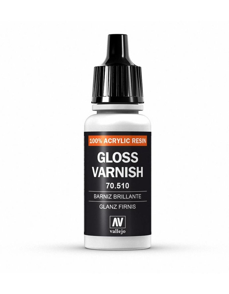 Vallejo Auxiliaries – Gloss Varnish 17ml