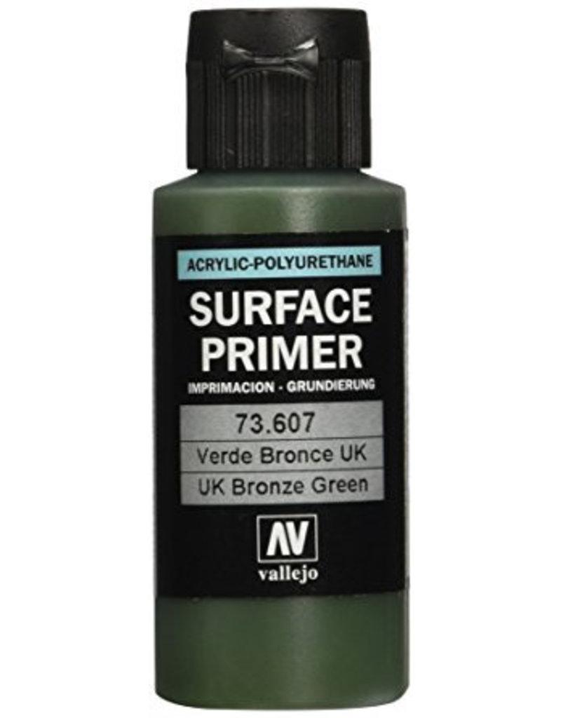 Vallejo Polyurethane Primer - UK Bronze Green 60ml