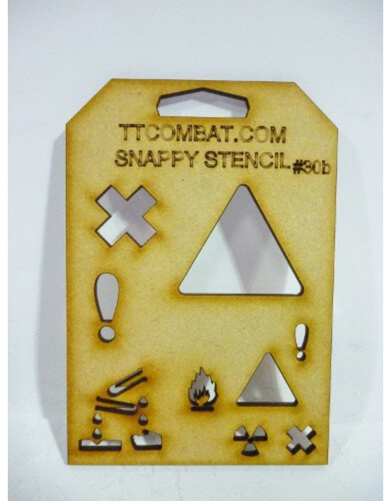 TT COMBAT Hazard Symbols B