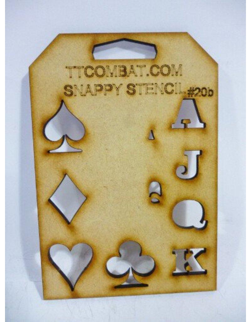 TT COMBAT Card Suits (Large)