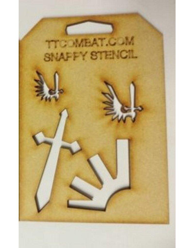 TT COMBAT Angels (Large Symbols)
