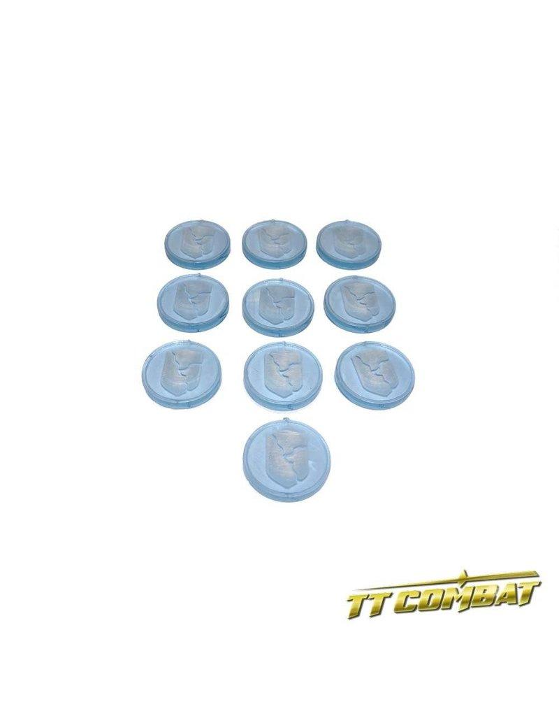 TT COMBAT Armour Cracked Tokens (10)