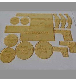 TT COMBAT Smoke Warmachine templates