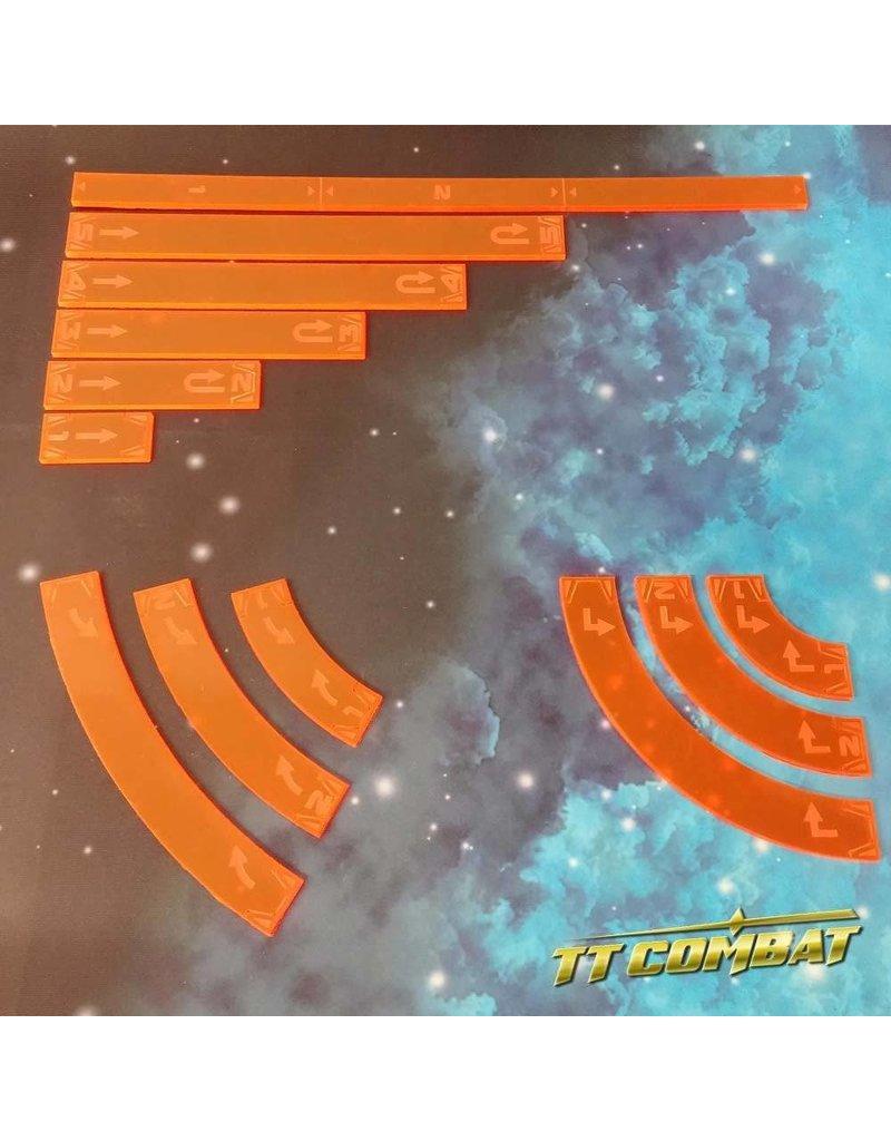 TT COMBAT Space-Wing Templates (Lava Orange)