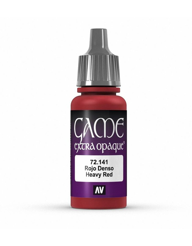 Vallejo Game Color - Heavy Red 17ml