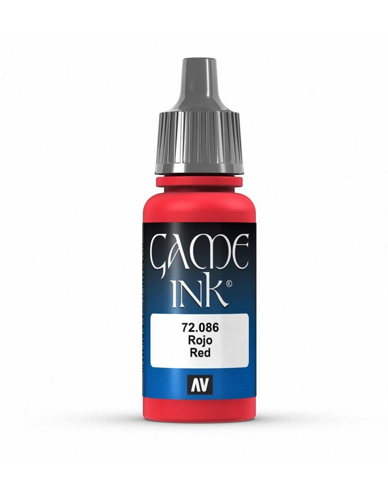 Vallejo Game Ink - Red Ink 17ml