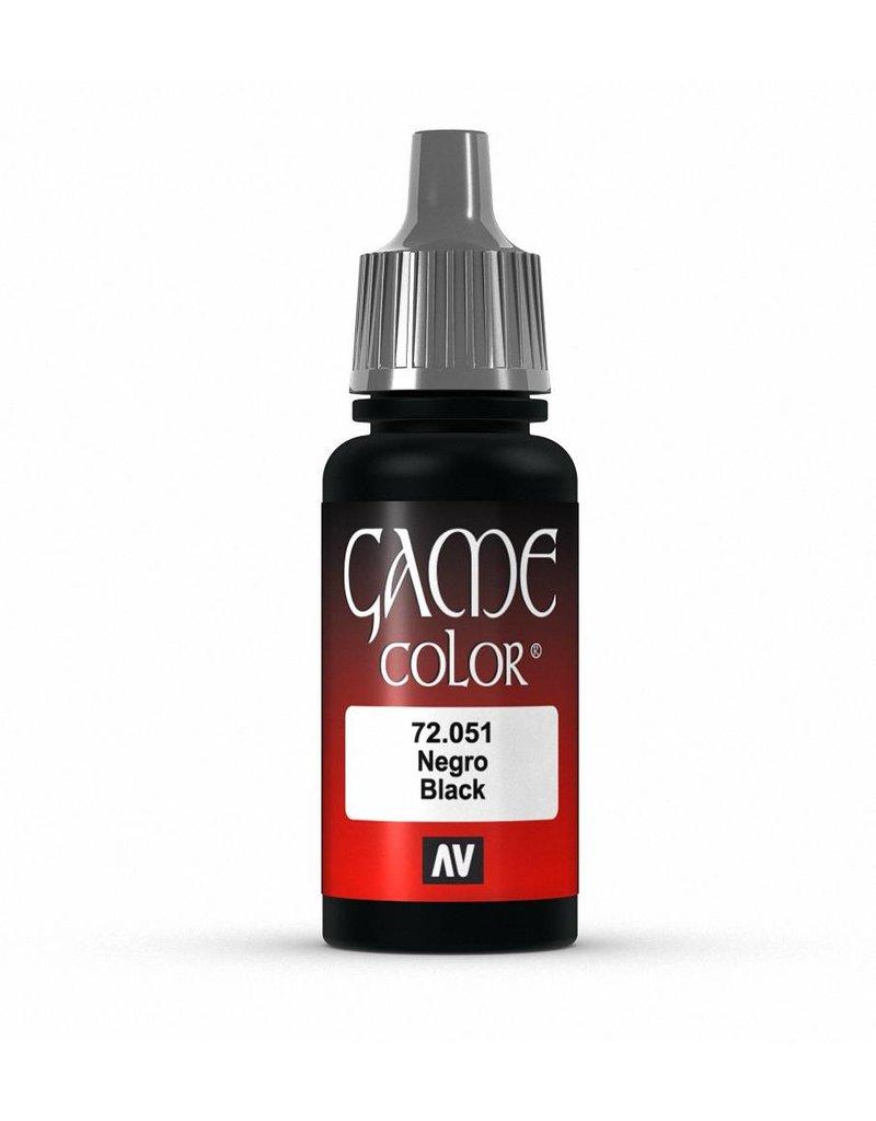 Vallejo Game Color - Black 17ml