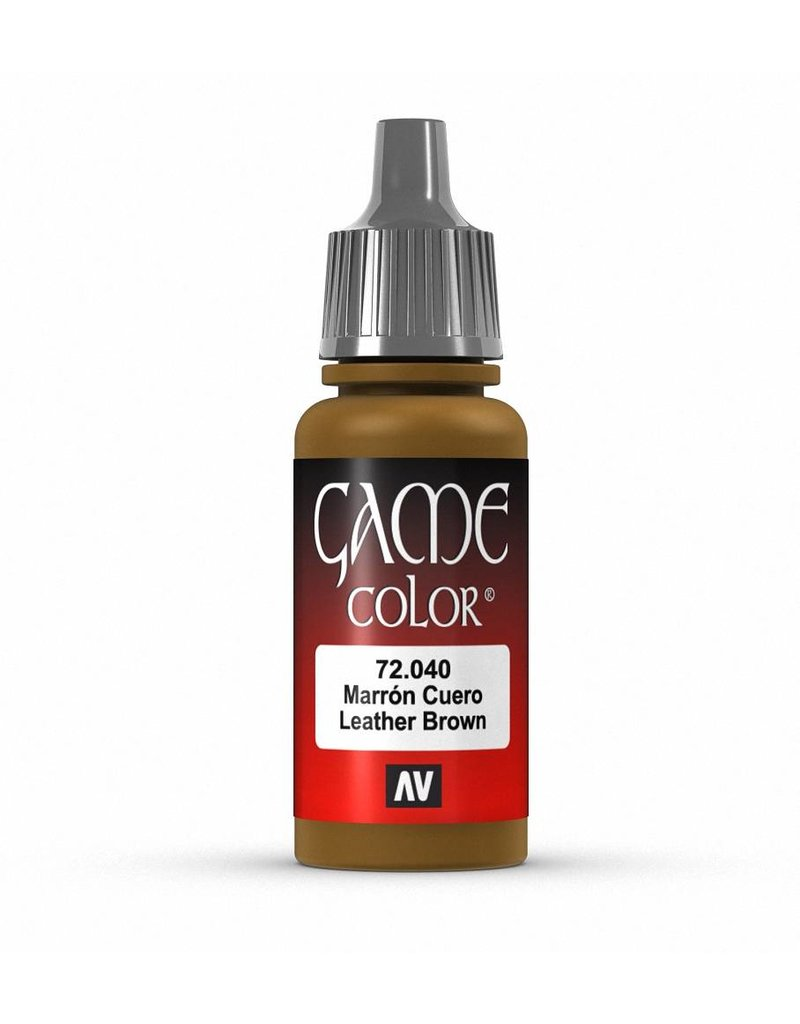 Vallejo Game Color - Plague Brown 17ml