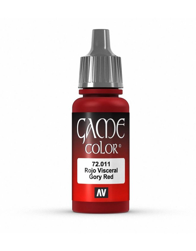 Vallejo Game Color - Gory Red 17ml