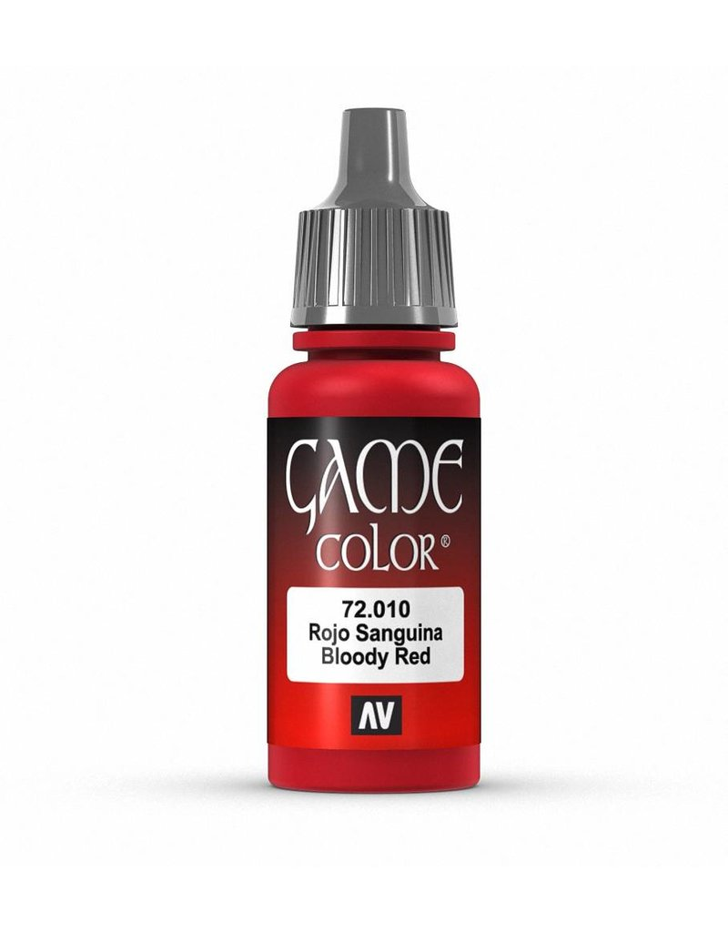 Vallejo Game Color - Bloody Red 17ml