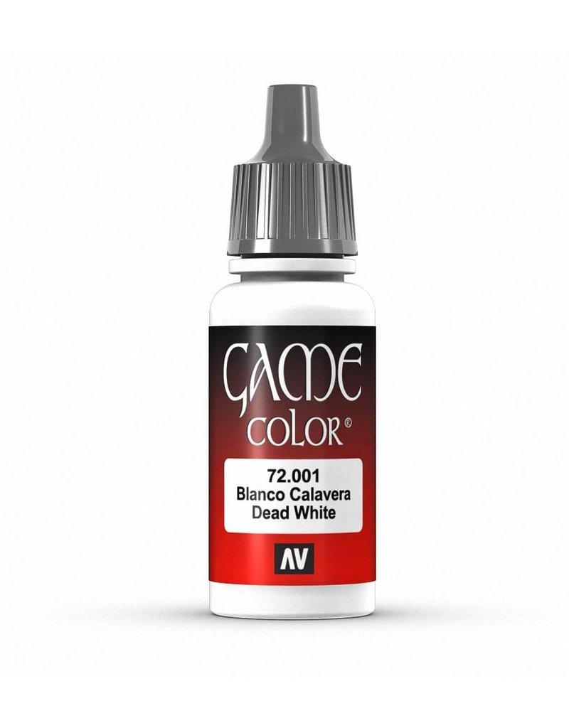 Vallejo Game Color - Dead White 17ml