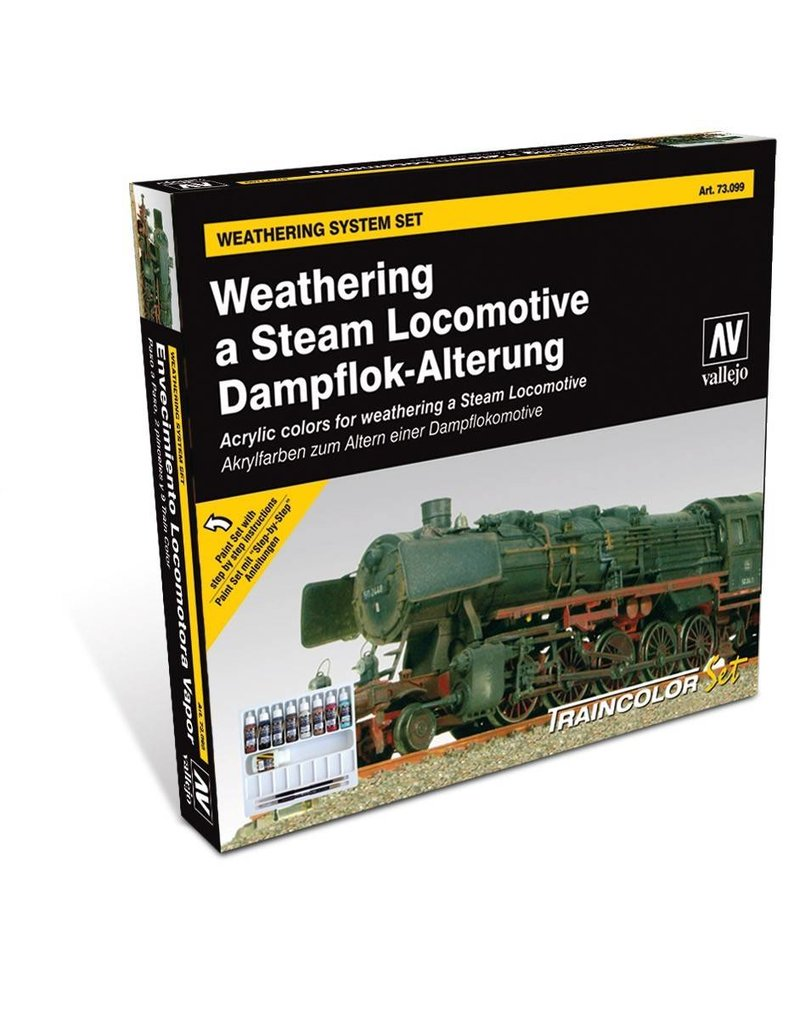 Vallejo Vallejo Train Color - Steam Engine Weathering Set