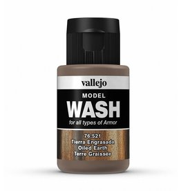 Vallejo Oiled Earth Wash 35ml