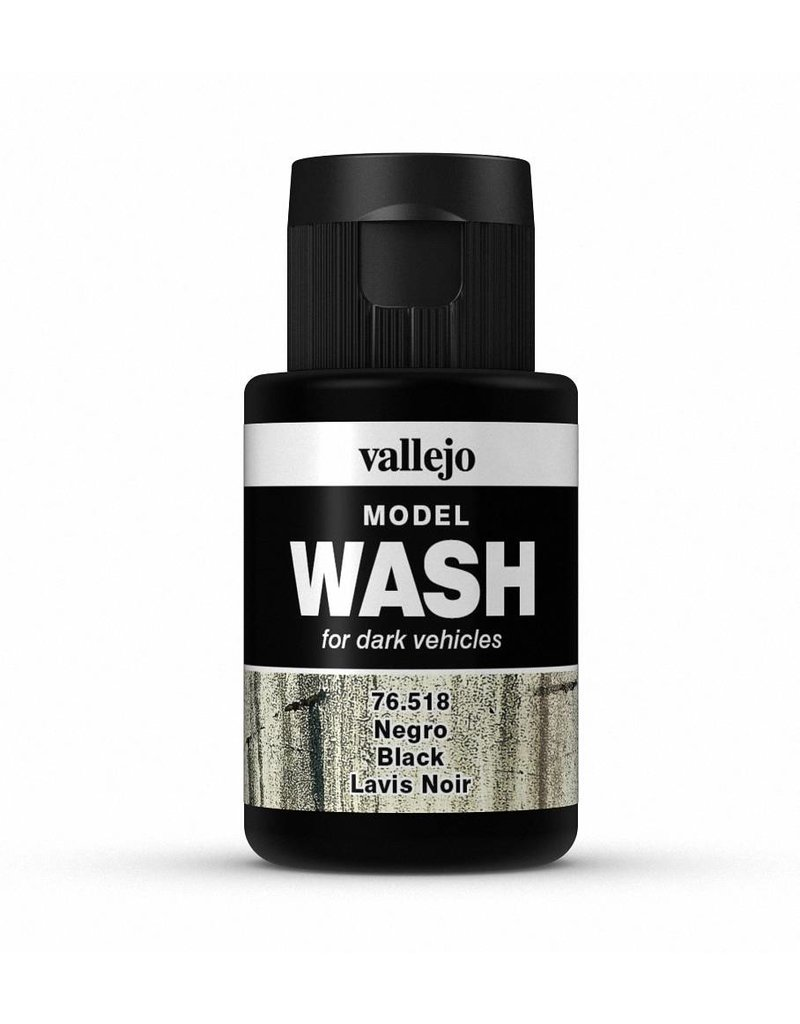 Vallejo Model Wash – Black 35ml