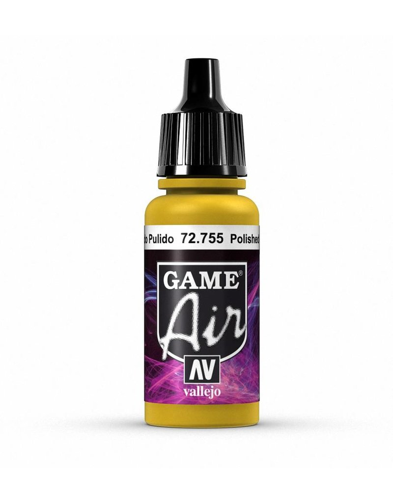 Vallejo Game Air - Polished Gold 17ml