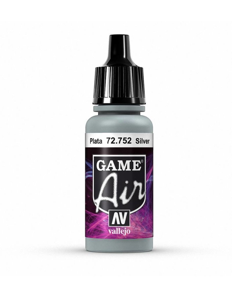 Vallejo Game Air - Silver 17ml