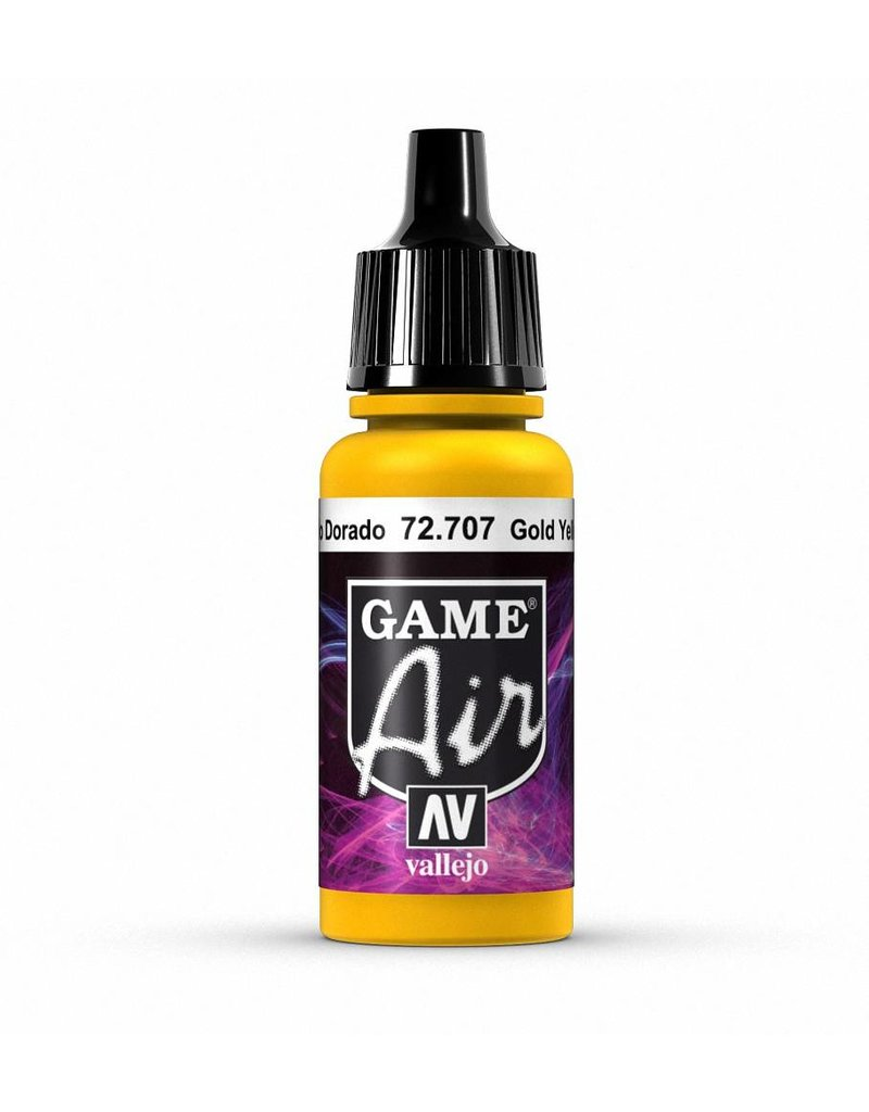 Vallejo Game Air - Gold Yellow 17ml