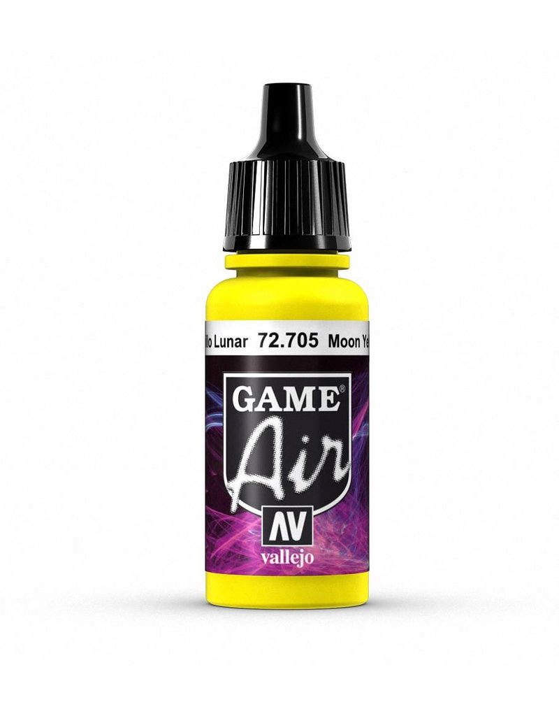 Vallejo Game Air - Moon Yellow 17ml