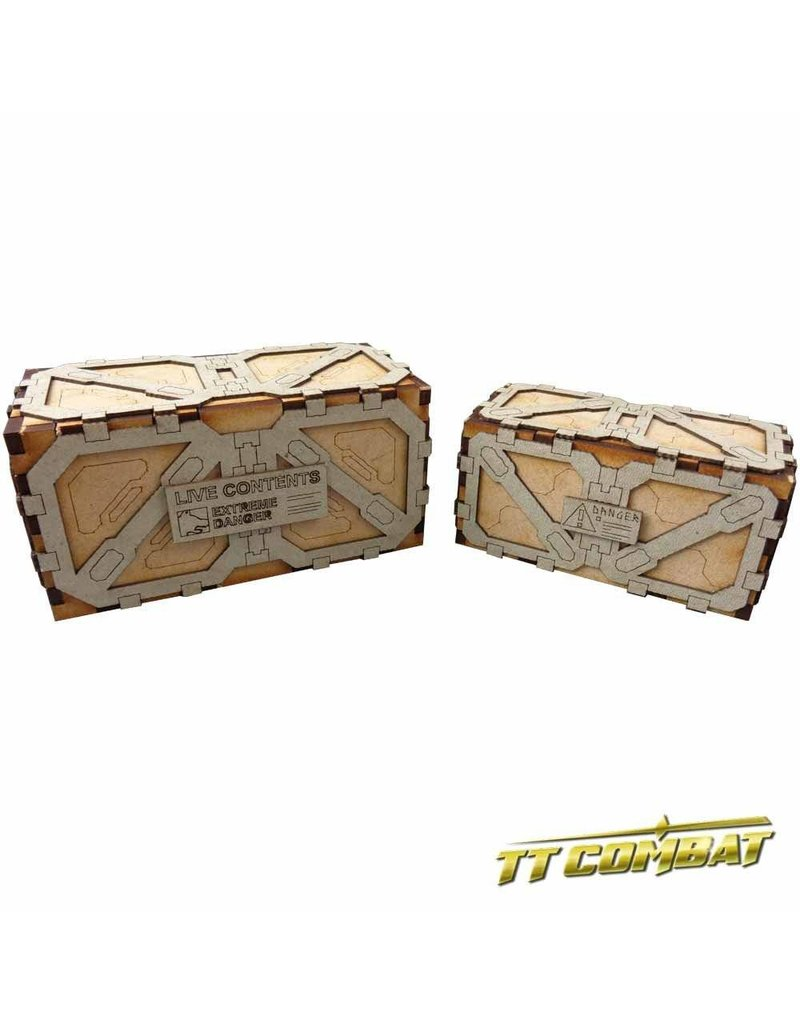 TT COMBAT Large Crates (2)