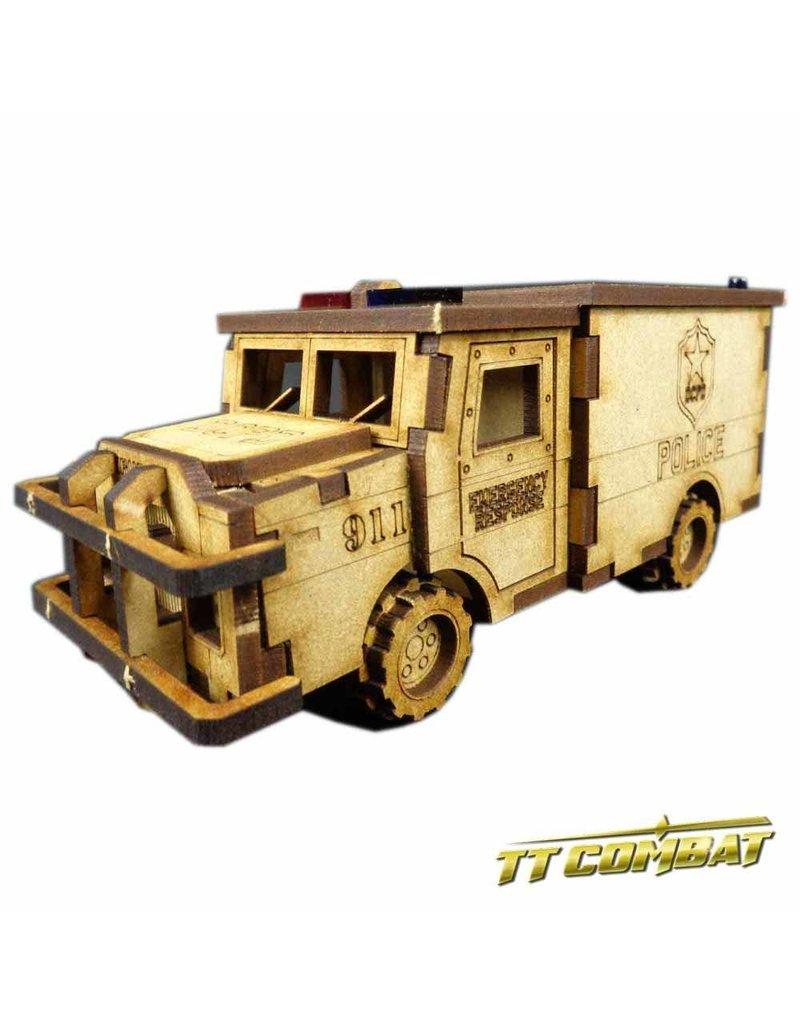 TT COMBAT Police Truck