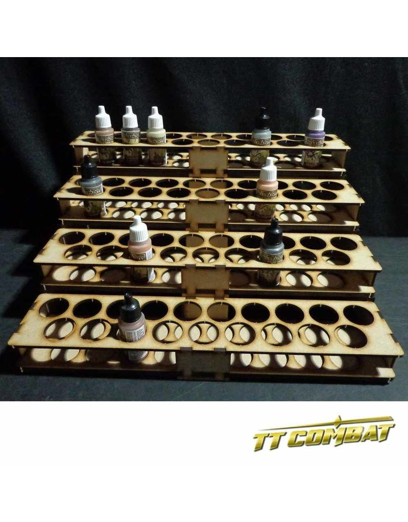 TT COMBAT Vallejo Mega Paint Rack 76