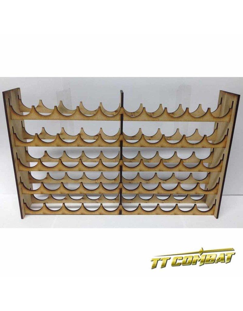 TT COMBAT Vallejo Mega Paint Rack 50