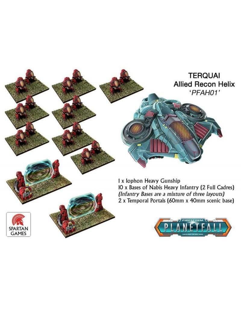 Spartan Games Terquai Allied Recon Helix
