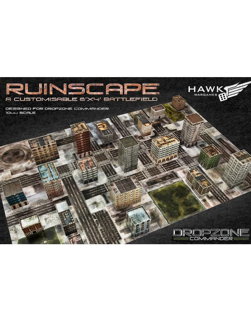 TT COMBAT Dropzone Commander Ruined Cityscape Scenery Pack
