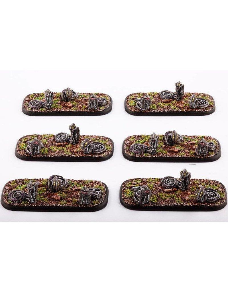 TT COMBAT Scourge Razorworms Clam Pack