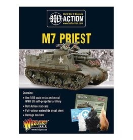 Warlord Games M7 Priest self-propelled gun
