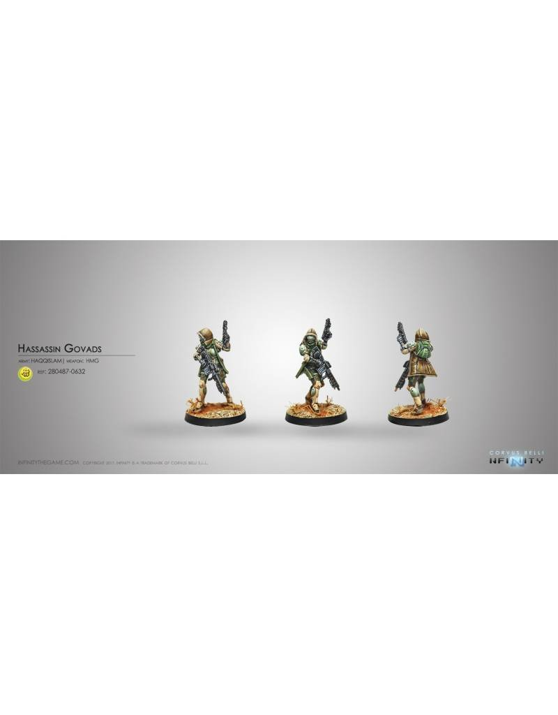 Corvus Belli Haqqislam Hassassins Govads (HMG) Blister Pack