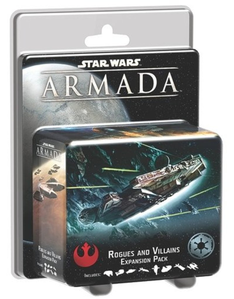 Fantasy Flight Games Star Wars Armada: Rogues and Villains Expansion Pack