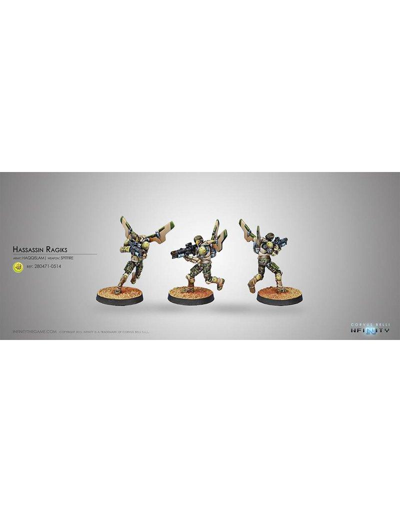 Corvus Belli Haqqislam Hassassin Ragiks (Spitfire) Blister Pack