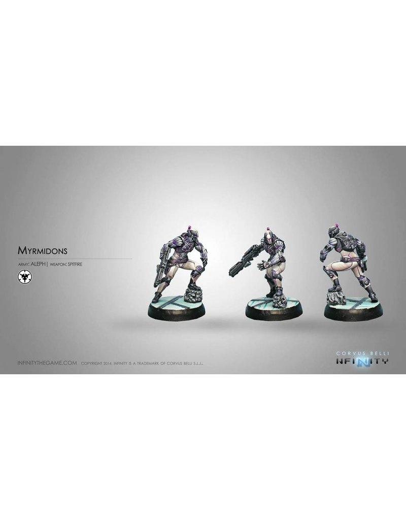 Corvus Belli Aleph Myrmidons (Spitfire) Blister Pack