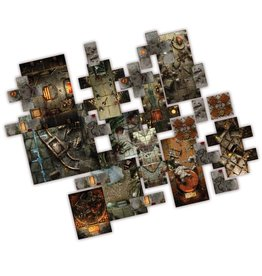 Mantic Games Halls Of Dolgarth Tile Pack