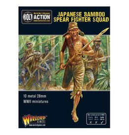 Warlord Games Bamboo Spear Fighter squad