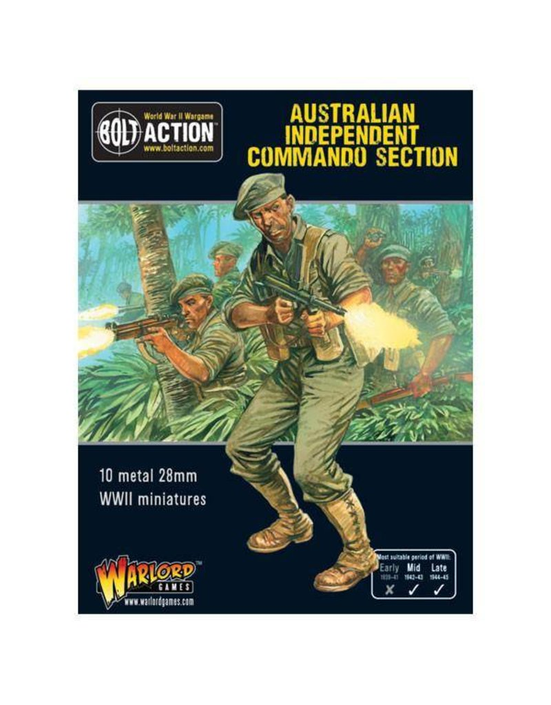 Warlord Games Australian Army Independent Commando squad