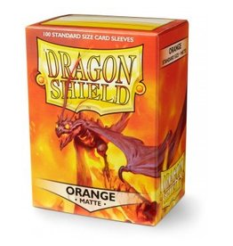 ARCANE TINMEN Dragon Shield Sleeves Matte Orange (100)